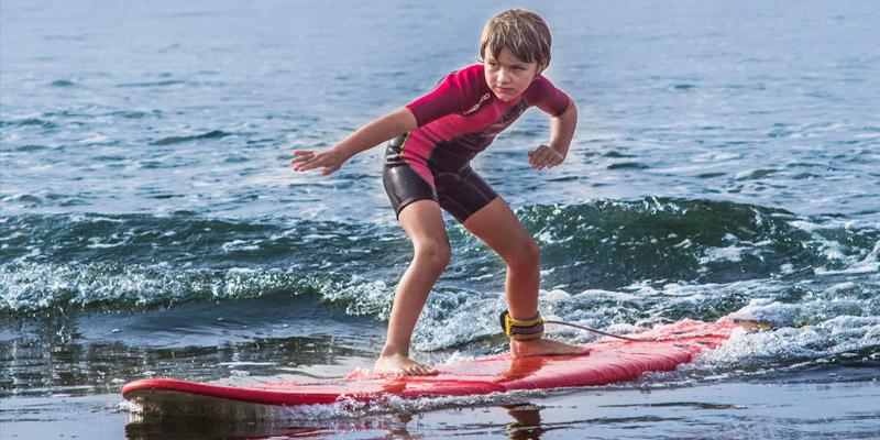 Surfcamp Familie