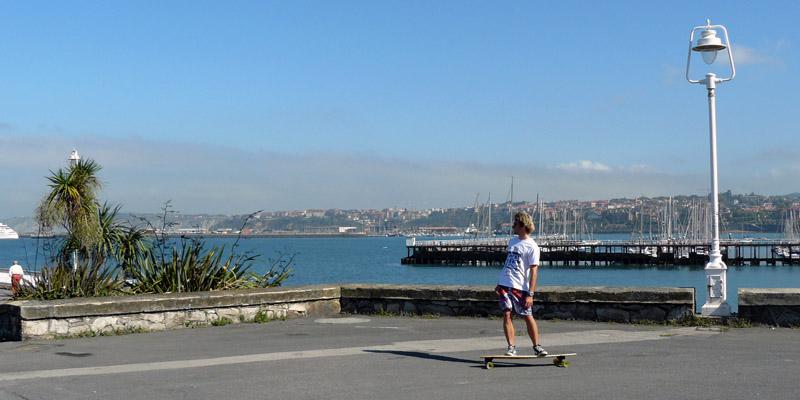 Longboard Bilbao 02