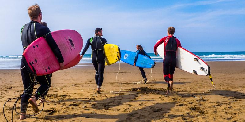 Surfschule Spanien